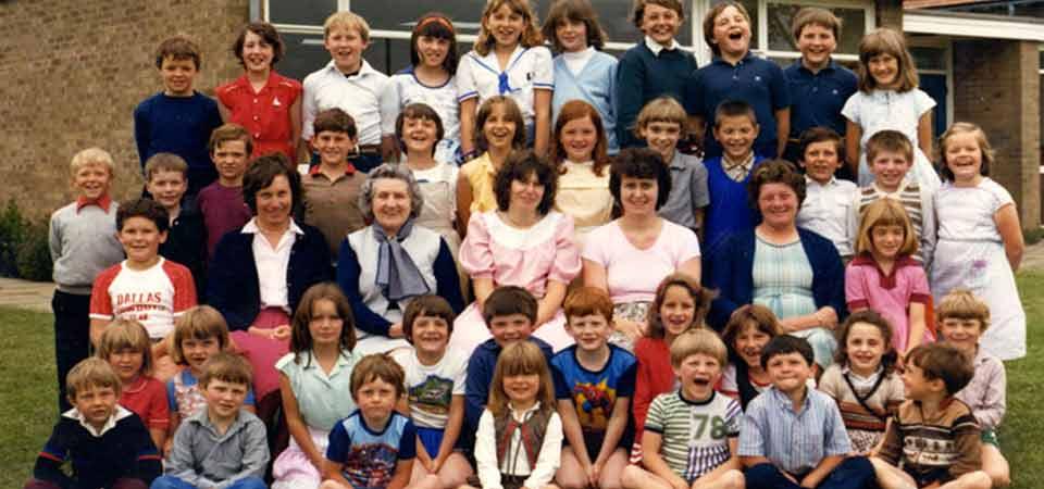Lt Thetford School, 1982